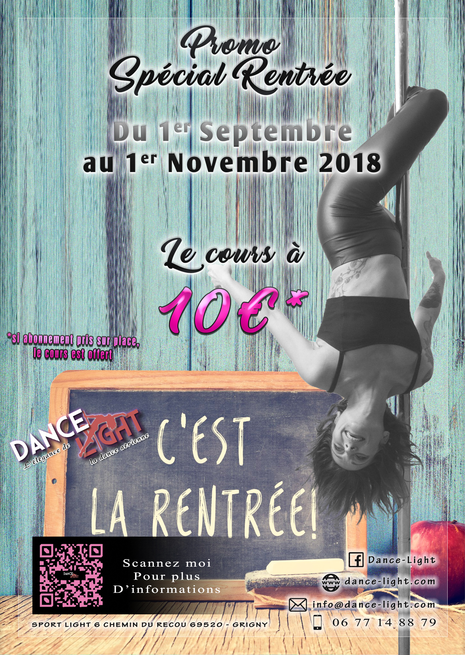 Promo Rentrée septembre 2018
