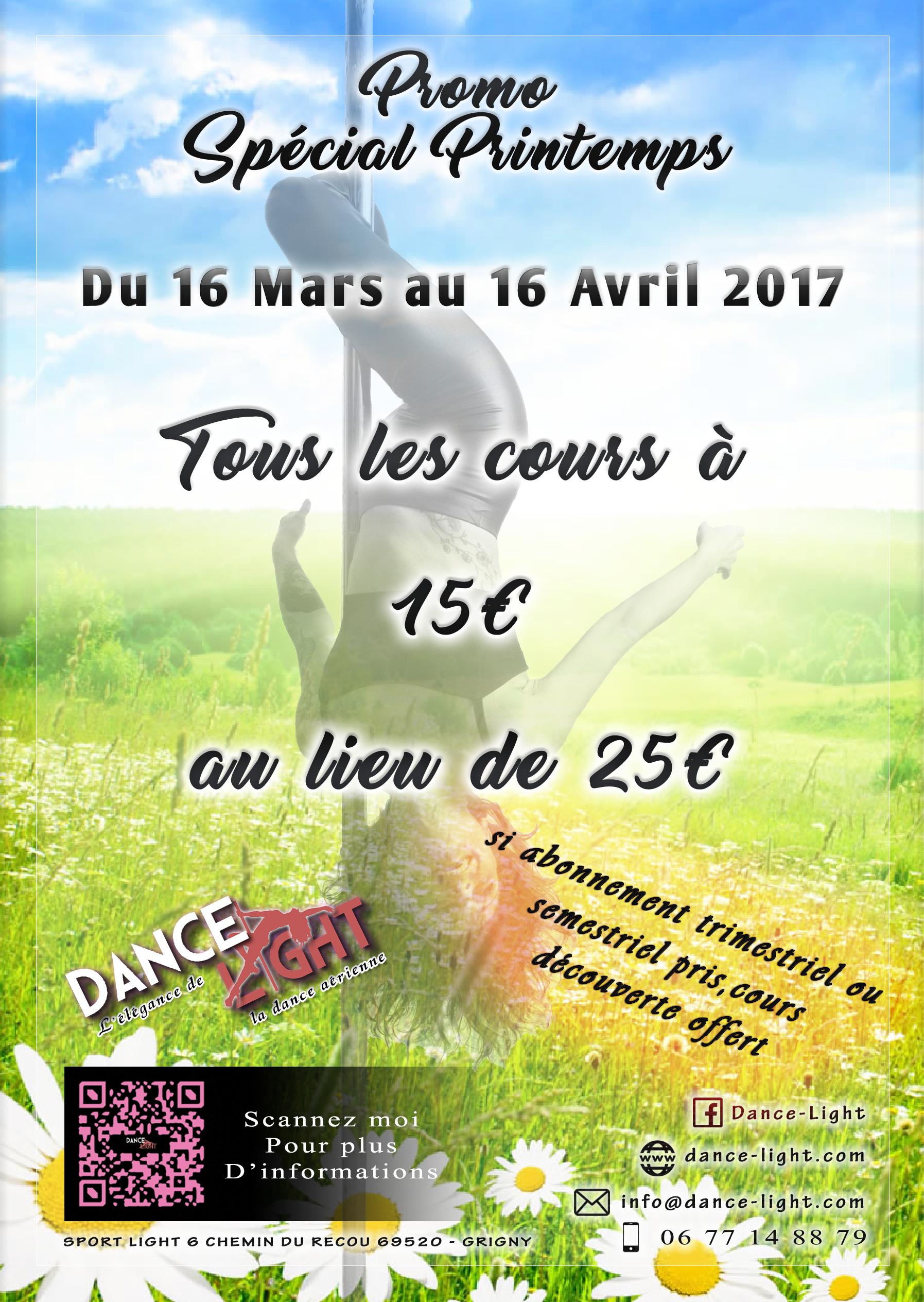 Promo printemps 2017