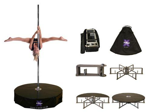 podium de Pole Dance