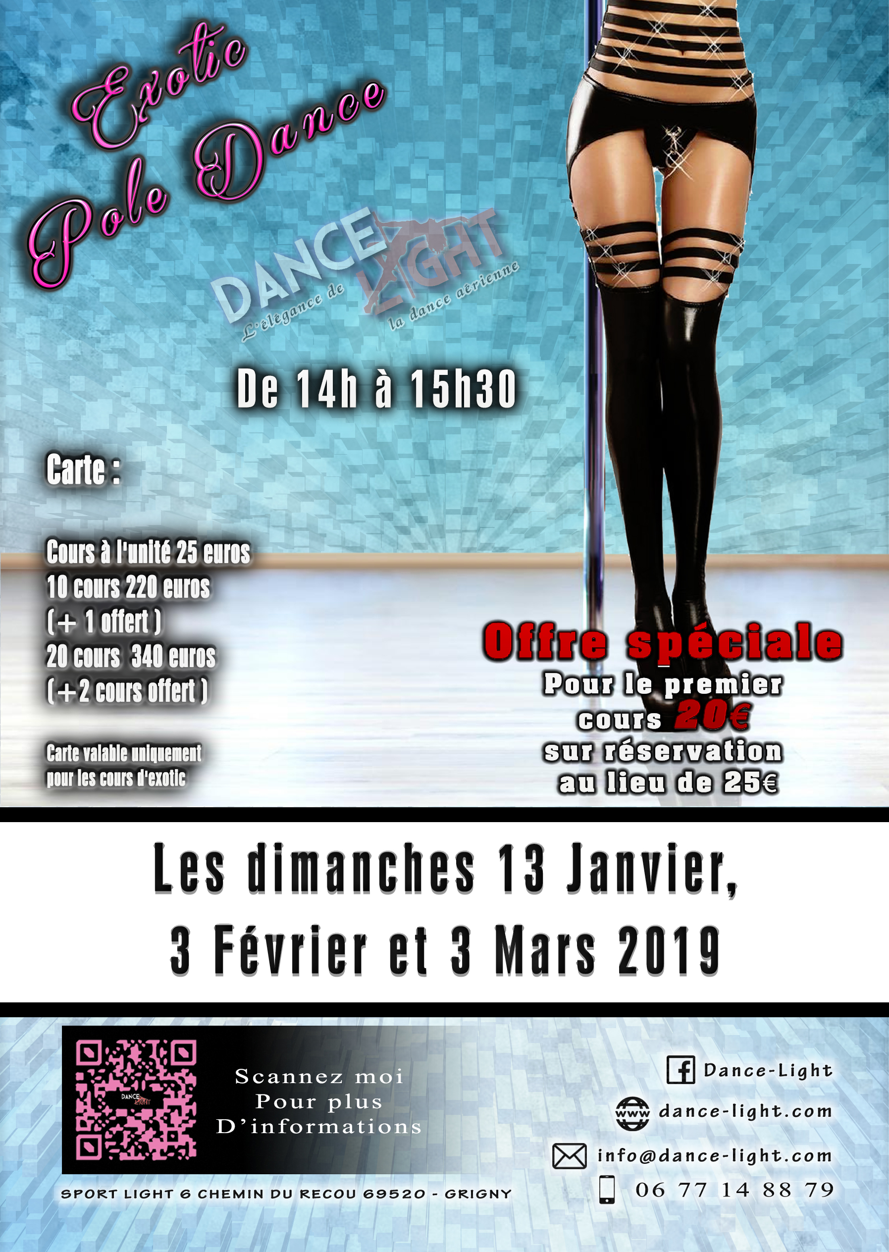 Exotic Pole Dance Janv a Mars 2019 new