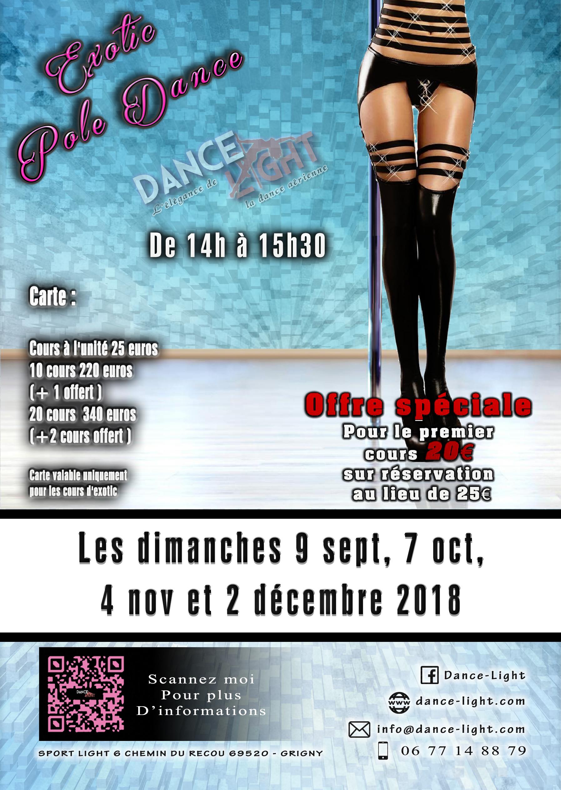 Exotic Pole Dance sept a dec 2018 new